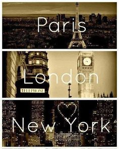 Places Imma go when I'm outta college(: