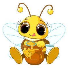 bumble bee artwork   Honey Bee Pictures Clip Art - honey bee funny #13 - Doblelol.com