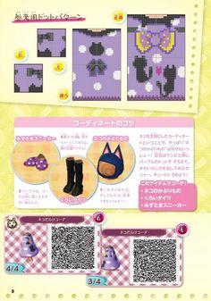 Purple cat dress part#2 QR code