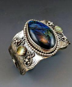Made in LKV on line BOHO CUFFS CLASS by Gail Williams http://www.gailwilliamsjewelry.com/