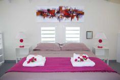 Location Villa Guadeloupe - Chambre Mezzanine.