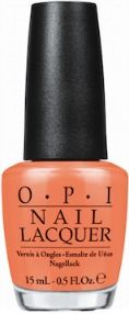 OPI 'Where Did Suzi's Man-Go' form the Brazil Collection. Great spring or summer shade!