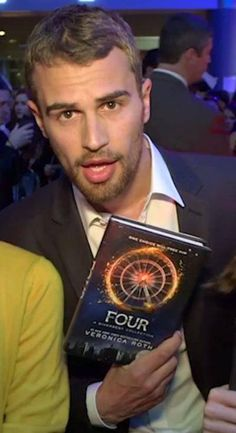 Four (Theo James) Holding FOUR A Divergent Collection!!!! Hold On Just Give Me A Moment To Fangirl❤️❤️❤️❤️❤️❤️❤️❤️