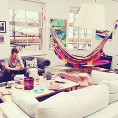 Rede dentro de casa: para descansar e decorar - Casinha Arrumada