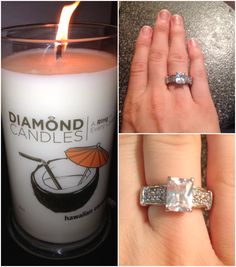 A Scented Candle With A Buried Treasure! #Win a @Diamond Candles via BaxtronLife!