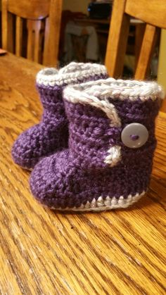 Purple Uggs for baby Milia! 11/6/2017