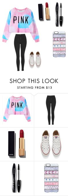 """Jacob sartorius outfit"" by morgs7120 ❤ liked on Polyvore featuring Chicnova Fashion, Topshop, Chanel, Converse, Lancôme and Casetify"
