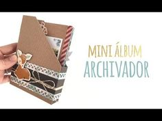 "Mini álbum archivador ""Hello Autumn"" - TUTORIAL Scrapbook - YouTube"