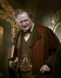 Jim Broadbent played Horace E. F. Slughorn the long-serving Potions teacher and Head of Slytherin House since at least the 1940s, until his retirement after the 1980–81 school year. Following his retirement and the resurgence of Voldemort, Slughorn goes into hiding, concealing all knowledge of his whereabouts from both sides in the growing conflict in the wizarding world.