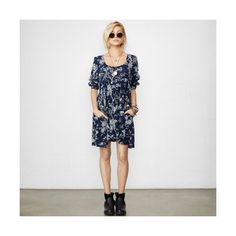 Denim & Supply by Ralph Lauren Floral Babydoll Dress found on Polyvore