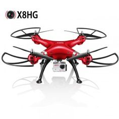 Syma X8HG With 8MP HD Camera Altitude Hold Mode 2.4G 4CH 6Axis RC Quadcopter RTF. Pinned by zapals.com