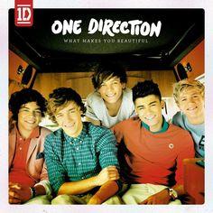 Caratula Frontal de One Direction - What Makes You Beautiful (Cd Single)