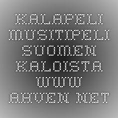 Kalapeli - muistipeli Suomen kaloista - www.ahven.net Finland, Periodic Table, School, Animals, Egg, Periotic Table, Animales, Periodic Table Chart, Animaux