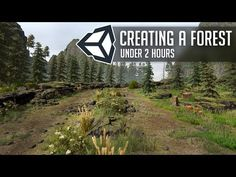 Create a Forest in Unity 2018 under 2 Hours - YouTube Unity Games, Unity 3d, Unity Tutorials, Design Tutorials, Basic Computer Programming, Computer Science, Maya Modeling, Blender Tutorial, Video Game Development