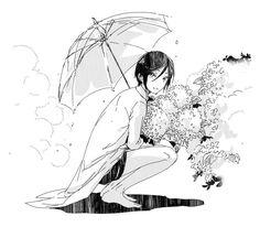 【刀剣乱舞】傘をさす薬研くん【とある審神者】 : とうらぶ速報~刀剣乱舞まとめブログ~