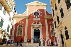 Church in Corfu see more here http://www.love4wed.com/one-of-the-most-romantic-weddings-in-corfu-with-a-vintage-flair/ #corfuchurches #destinationweddingsincorfu #destinationkerkyra #greekweddings