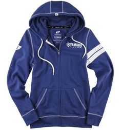 One Industries Women's Yamaha Banding Hooded Sweatshirt (Royal Heather, Large) - http://www.immmb.com/women-clothing/one-industries-womens-yamaha-banding-hooded-sweatshirt-royal-heather-large.html/