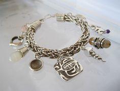 Charm Bracelet - Hand Woven Bracelet