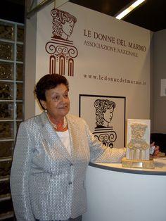 Margherita Pellegrini, imprenditrice veronese (Pellegrini Meccanica, Verona), Premio Donna del Marmo 2007.