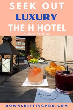 The H Hotel Midland Michigan review by DownshiftingPRO 2 Midland Michigan, Company Town, Ny Strip Steak, H Hotel, The Perfect Getaway, French Bistro, Workout Rooms, Amazing Destinations, Hotel Reviews