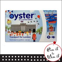 £90 Oyster Card. Want a chance to win, repin this to your board and enter on our entry form here: quickquid.co.uk/...