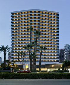 Hotel Don Pancho | Building | Best Hotel in #Benidorm #facade #hoteldonpancho #hotel #sea #holidays #vacaciones #playa