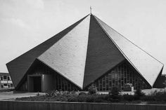 Church St. Michael | 1964 | St. Ingbert, Germany | Hanns Schönecker