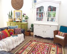 Living room delight! Bohemian and gorgeous