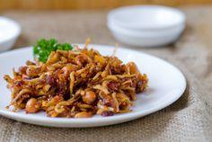 Sambal Teri Kacang, Spicy Anchovies and Peanuts