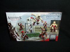 Assassins Creed Mega Bloks Borgia Guard Pack 122 Pcs 94306 Collector Series #MegaBloks