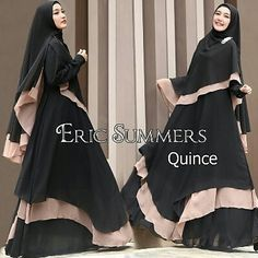 QUINCE By Eric summers  Bahan full ceruty  all size ld 100 panjang 140  Retail: 370.000 Reseller 350.000 est. ready 29sept  Beli 1x Retail Price selanjut nya reseller price  Line @kni7746k  Wa 62896 7813 6777  #jualgamissyariceruty #jualgamissyariceruti #distributorgamisceruty #distributorgamisceruti #suppliergamissyariceruty #suppliergamissyariceruti #gamissyaricerutybranded #gamissyaricerutibranded #obralbajumuslimbranded #obralgamissyariceruty #ottdhijabbranded #ottdhijabindonesia #pin Moslem Fashion, Niqab Fashion, Fashion Wear, Caftan Dress, Hijab Dress, Modele Hijab, Casual Hijab Outfit, Abaya Designs, Islamic Fashion