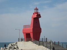 Jeji island dragon lighthouse