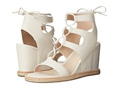 Pelle Moda Kyra White Leather - 6pm.com