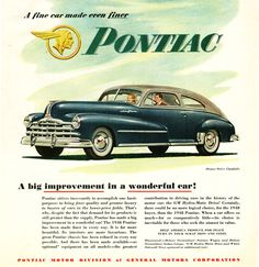 Pontiac Deluxe Streamliner Station Wagon 1948 - Mad Men Art: The 1891-1970 Vintage Advertisement Art Collection
