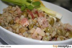 Šoulet Polenta, Quinoa, Potato Salad, Food And Drink, Potatoes, Treats, Chicken, Cooking, Ethnic Recipes