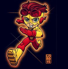 Young Justice- Kid Flash by lordmesa on deviantART Young Justice Invasion, Young Justice League, Beast Boy, Teen Titans, South Park, Dc Animated Series, Power Rangers, Lord Mesa Art, Justice Kids