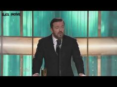 2010-2011-2012 Golden Globes - Ricky Gervais opening monologue and performance. - YouTube