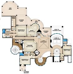 Second Floor of Plan ID: 46831