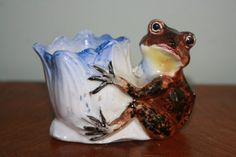 Frog Toothpick Holder on Etsy, $9.99