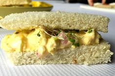 ThisDownton Abbey review is of Highclere Castle with Lady Carnavon, and a delightfulEgg Salad Tea Sandwichesrecipe!