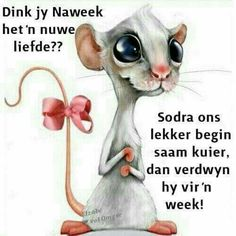 Dink jy naweek het 'n nuwe liefde? Weekend Quotes, Monday Quotes, Good Morning Greetings, Good Morning Good Night, Cute Quotes, Funny Quotes, Qoutes, Lekker Dag, Pallet Wall Art