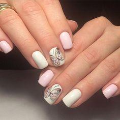 Бабочки в дизайне ногтей – 36 fotografías