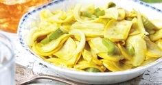 No canner or water bath necessary for this tangy pickled squash that's the color of sunshine.