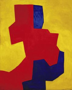 Composition abstraite (1967) by Serge Poliakoff