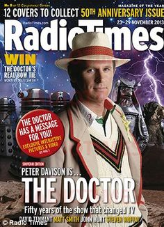Peter Davison, 50th anniversary.Fivey  hasn't lost the charming effect!!!