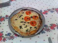 Pizza Margueritta Dukan - confira esta receita de #pizzadukan