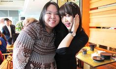 With Kat Oh (Korean MUA) at Laneige Beauty Workshop (12/12/2015) - #Laneige #LaneigeIndonesia #LaneigeBeautyWorkshop #beautyworkshop #Blossomshine #beautybloggerindonesia #beautyblogger #bloggersgathering #beautytalk #makeup #skincare #haircare