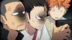 - The hatred of Aoba Johsai Tanaka Haikyuu, Nishinoya Yuu, Kageyama Tobio, Haikyuu Anime, Hinata, Anime Dubbed, Anime Meme Face, Watch Haikyuu, Baby Crows