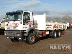 For sale: Used and second hand - Truck IVECO Open with sideboards 260E31 #iveco #trucks