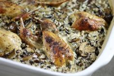 Recipe—Quail and Wild Rice Casserole - NSSF Let's Go Hunting